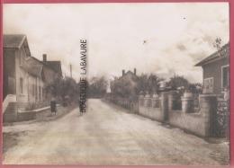 87 - ST HILAIRE DES PLACES--Route De Vialotte--animé---cpsm GF - Autres Communes