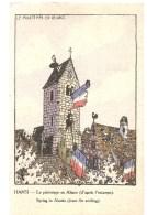 CPA Hansi Le Printemps En Alsace - Hansi