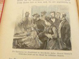 New York USA General Newton Engraving Print 1895 - Prints & Engravings
