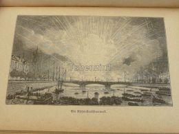 Feuerwerk Fireworks Engraving Print 1895 - Prints & Engravings