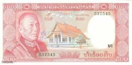 (B0739) LAOS, 1974 (ND). 500 Kip. P-17a. UNC - Laos