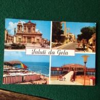 Cartolina Saluti Da Gela Viaggiata 1963 Caltanissetta - Gela