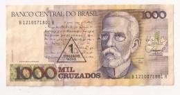 BANCO CENTRAL DO BRASIL 1000 CRUZADOS - Brésil