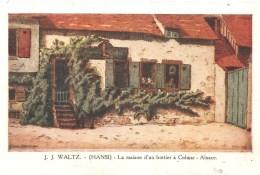 CPA J.J. WALTZ Hansi La Maison D'un Bottier à Colmar (Alsace) - Hansi