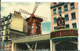 Paris (Parigi, France) Le Moulin Rouge, Place Blanche - Places, Squares