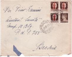 Lettera Da Rovigo A P.D.C.  755    Del 24 /10 /1944      B412 - Marcophilia
