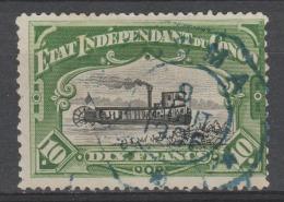 Etat Indépendant Du CONGO 1887 - Obl. COB 29 - Cachet Télégraphe - 1884-1894 Vorläufer & Leopold II.