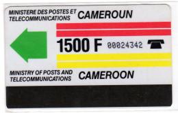 CAMEROUN REF MV CARDS CAM-1  Autelca 1500F - Cameroun