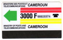CAMEROUN REF MV CARDS CAM-2  Autelca 3000F - Cameroun