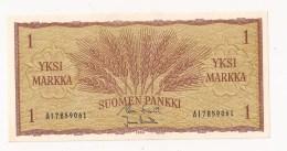 FINLANDS BANK EN MARK 1 MARK - Finlande