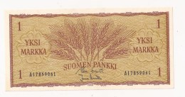 FINLANDS BANK EN MARK 1 MARK - Finland