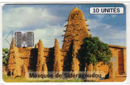 BURKINA FASO REF MV CARDS BKF-31 10U MOSQUE - Burkina Faso