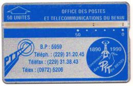 BENIN REF MV CARDS BEN-01A 50U  206A