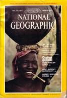 National Geographics March 1982 - Viajes/Exploración