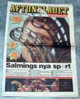 Aftonbladet Innebandy 17 September 1998 - Books, Magazines, Comics