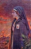 """Croix Rouge- S B M - """" L'Ange Guerisseur """"  Illustrateur  Enjolras -  Guerre 1914/16   CPA - Croix-Rouge"""