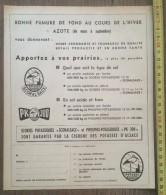 PUB PUBLICITE AZOTE POTASSE D ALSACE LA CIGOGNE - Old Paper