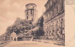 Germany Gruss Aus Heidelberg Der Schlossaltan