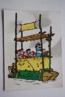 Cartoon The Flintstones  - Old Postcard 1960s - Cinema