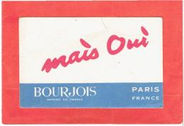 CARTE PARFUMEE MAIS OU PARFUM BOURGEOIS PARIS - Perfume Cards