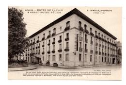 Ancienne Carte Postale, Hôtel De France, Vevers - Francia