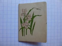 CALENDRIERS AGENDA PETIT FORMAT   BIJOU  TEINTURE DES SOIERIE  TEINTURERIE HALLU AINE  VERSAILLES  CALENDRIER  1902 - Calendriers