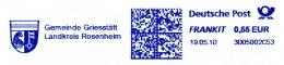 Freistempel 4664 Griesstätt Wappen Adlerkopf Vogel Schlüssel - Poststempel - Freistempel