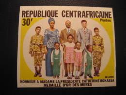 REPUBLIQUE CENTRAFICAINE Yvert 168 Cat. 5 Eur Aprox. ** Unhinged Imperforated Proof Epreuve Bokassa France Area - Centrafricaine (République)
