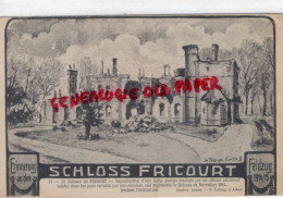 80 - FRICOURT - LE CHATEAU  SCHLOSS - France