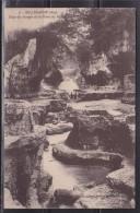 = Carte Postale Bellegarde (Ain) Dans Les Gorges De La Perte Du Rhône 2 Timbres 172 Oblitérés 1927 - Bellegarde-sur-Valserine