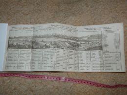 Alpenaussicht Aus Bern Bundespalast Map Karte Suisse Switzerland Suisse 1867 - Cartes Géographiques