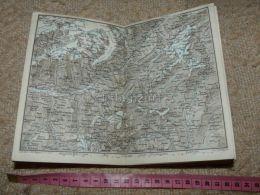 Niederwald Brieg TorbelMap Karte Suisse Switzerland Suisse 1867 - Cartes Géographiques