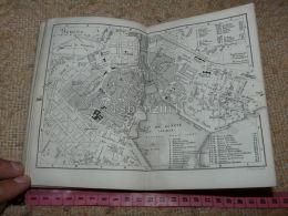 Geneve Lac Leman Map Karte Suisse Switzerland Suisse 1867 - Cartes Géographiques
