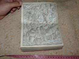 Mont Blanc St. Bernard Aoste  Map Karte Suisse Switzerland Suisse 1867 - Cartes Géographiques