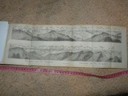 Panorama Vom Piz Languard  Map Karte Suisse Switzerland Suisse 1867 - Cartes Géographiques