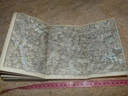 Rheinwald Thal Chiavenna Biasca Aquila Molins   Map Karte Suisse Switzerland Suisse 1867 - Cartes Géographiques