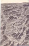 F 88100 SAINT DIE, Panorama-Karte Vogesen, 1.Weltkrieg - Saint Die