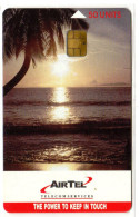 SEYCHELLES REF MV CARDS SEY-CA-01 AIRTEL 50U SUNSET - Seychelles