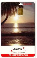 SEYCHELLES REF MV CARDS SEY-CA-01 AIRTEL 50U SUNSET