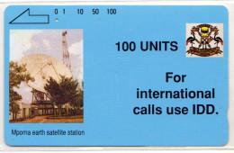 OUGANDA REF MV CARDS UGA-02 100U IDD 1 - Ouganda