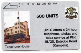 OUGANDA REF MV CARDS UGA-03 500U UPTC