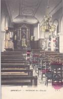 Sprimont - Intérieur De L'Eglise (colorisée) - Sprimont