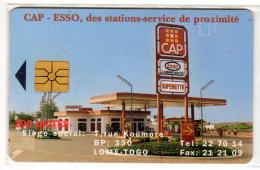 TOGO REF MV CARDS TOG-24 100U CAP ESSO - Togo