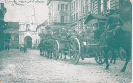 AK Wilna Vilnius - Einrücken Deutsch. Artillerie In Wilna - Feldpost Feldart.-Regt. 61 - 1.WK (23894) - Lithuania