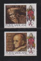VATICAN, 1978, Mint Never Hinged Stamps , Pope Paul VI, 80 Years, 718-719, #4322, - Vatican