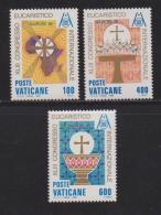 VATICAN, 1985, Mint Never Hinged Stamps , Nairobi Congress, 876-879, #4407, - Vatican