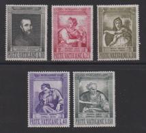 VATICAN, 1964, Mint Never Hinged Stamps , Michel Angelo , 454-458, #3876, - Vatican