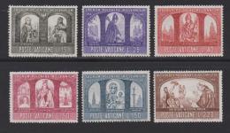 VATICAN, 1966, Mint Never Hinged Stamps , Poland's Christian Milennium, 502-507, #3881, - Vatican