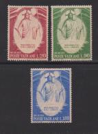 VATICAN, 1969, Mint Never Hinged Stamps , The Resurrection, 544-546, #3883, - Vatican