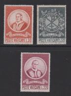 VATICAN, 1969, Mint Never Hinged Stamps , St. Peter's Circle, 553-555, #3961 - Vatican